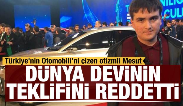 Türkiye'nin Otomobili'ni çizen otizmli Mesut: Volkswagen'de çalışmayı reddetti