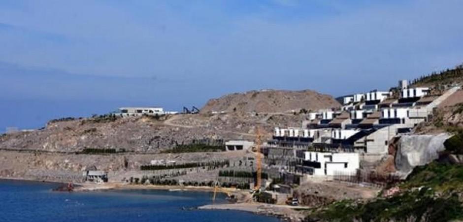 200 milyon dolarlık projenin 'kaçak' bölümleri yıkıldı
