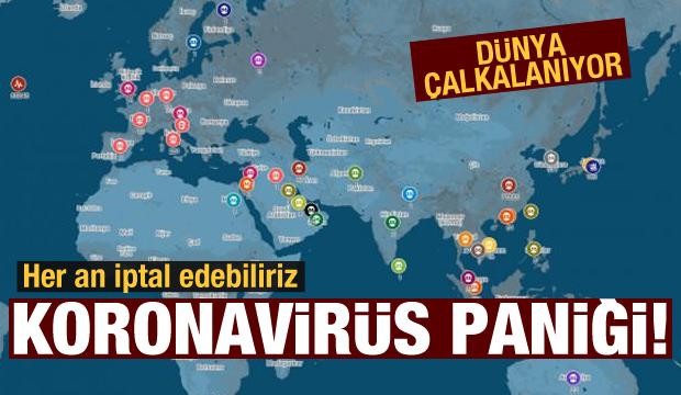 Dünya çalkanıyor! Koronavirüs paniği (26 Şubat 2020 Günün Önemli Gelişmeleri)