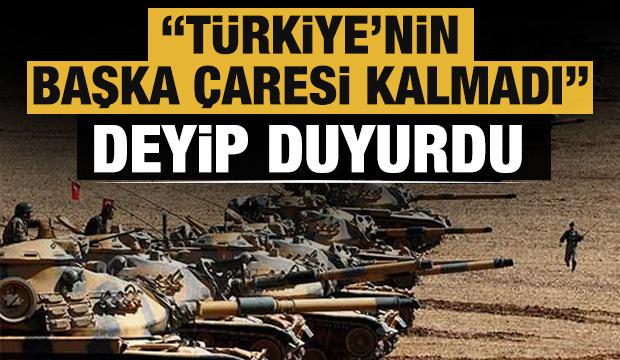 Altun'dan son dakika açıklamaları! 'Türkiye'nin başka çaresi kalmadı' deyip duyurdu