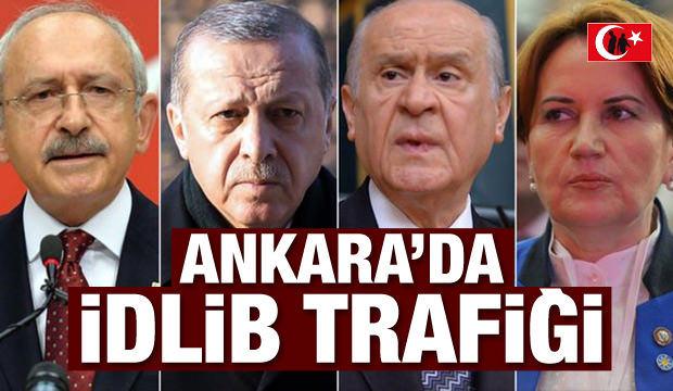 Ankara'da İdlib hareketliliği!