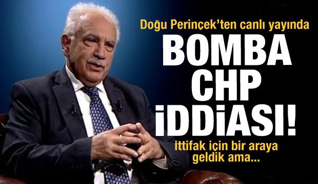 Doğu Perinçek'ten CHP ile ittifak iddiası: 'Kılıçdaroğlu, HDP olmazsa olmaz' dedi