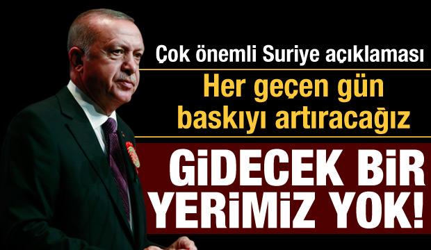 Erdoğan'dan son dakika Suriye açıklaması: İşte öldürülen rejim askeri sayısı!