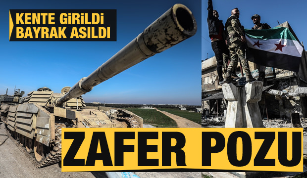 Ilımlı muhalifler, İdlib'in stratejik önemdeki Serakib ilçesini geri aldı
