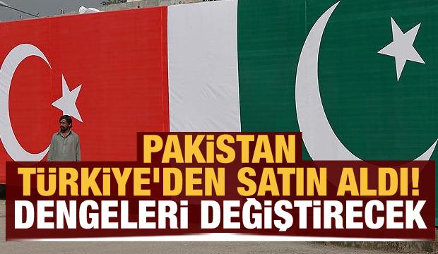 Pakistan Türkiye'den satın aldı! Dengeleri değiştirecek