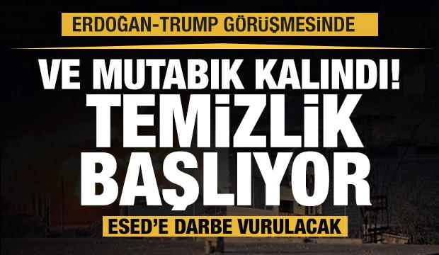 Son dakika: Erdoğan ve Trump görüştü! Temizlik başlıyor, Esed'e darbe vurulacak