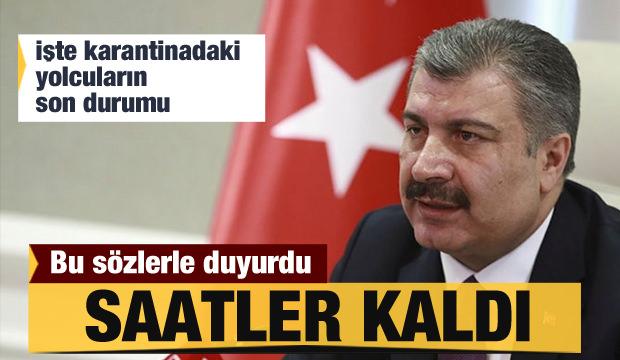 Ankara'da koronavirüs alarmı! Bakan Koca'dan önemli açıklamalar