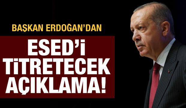 Son dakika haberi: Başkan Erdoğan'dan Esed'i titretecek açıklama!