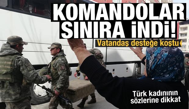 Son Dakika Haberi: Sınırda hareketlilik: Komandolar sevk edildi!