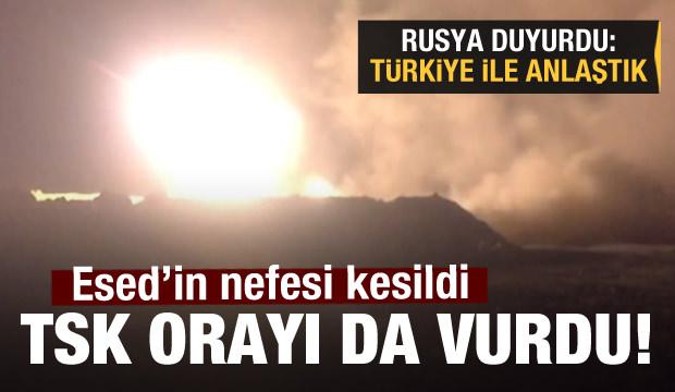 Son Dakika Haberi: TSK orayı da vurdu! Rusya'dan açıklama geldi: Anlaştık!