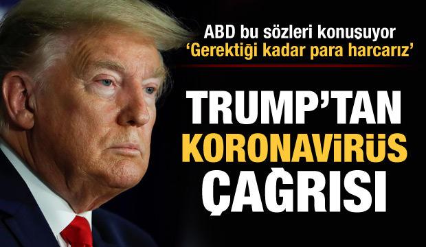 Trump'tan Kovid-19 çağrısı