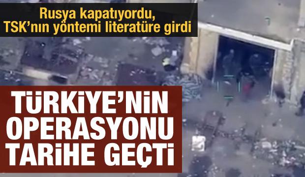 Türkiye'nin İdlib'e operasyonu savaş literatürüne girdi