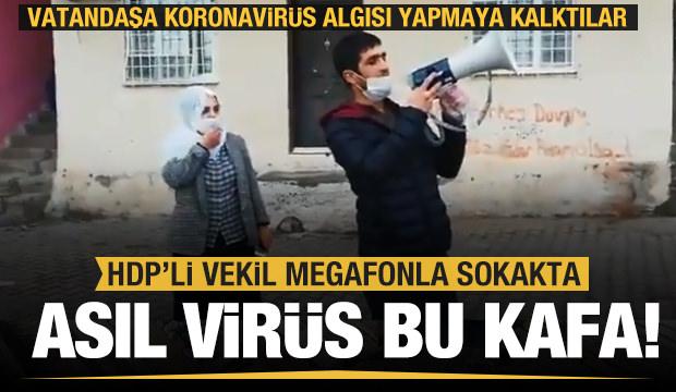 HDP koronavirüsü fırsat bildi! Vatandaşı devlete karşı kışkırtmaya kalktılar