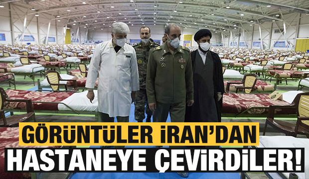 İran ordusu, 2 bin kişilik hastane kurdu