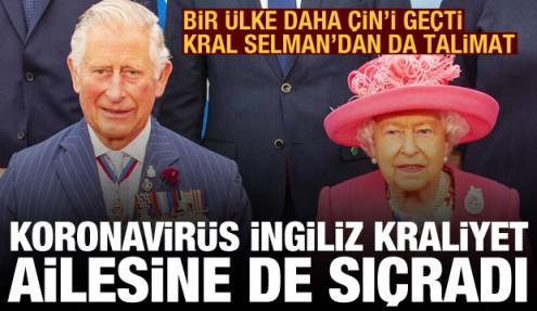 Türkiye ve dünyada son durum: Koronavirüs İngiliz Kraliyet Ailesine sıçradı