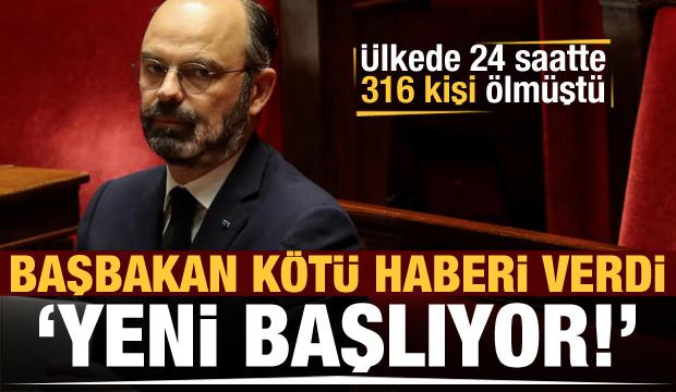 Ülkede 24 saatte 316 kişi ölmüştü, 'daha yeni başlıyor' dedi...