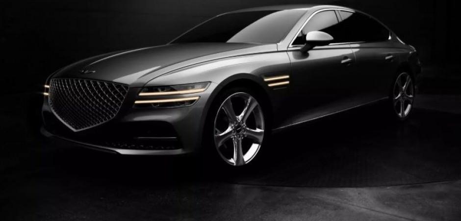 2021 Genesis lüks sedan G80 görücüye çıktı!