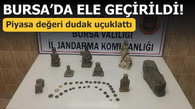 Bursa'da ele geçirildi! Piyasa değeri dudak uçuklattı