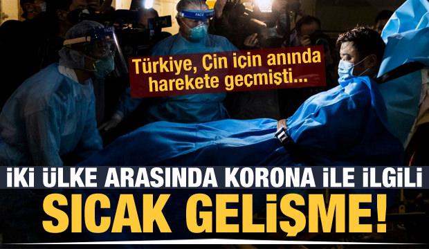 Son dakika haberi: Çin ile Türkiye arasında kritik hamle! Tedavi için hareket geçildi