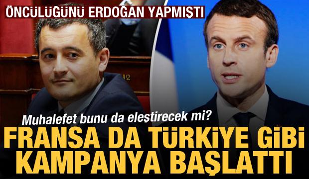 Muhalefet bunu da eleştirecek mi? Fransa da Türkiye gibi yardım kampanyası başlattı