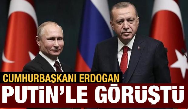 Son dakika haberi: Cumhurbaşkanı Erdoğan, Putin'le görüştü