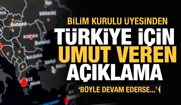Türkiye için son dakika umut veren açıklama! Bilim Kurulu üyesi tarih verdi