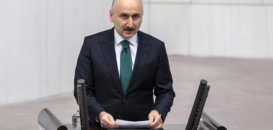 Ulaştırma Bakanı Adil Karaismailoğlu, TBMM'de yemin etti