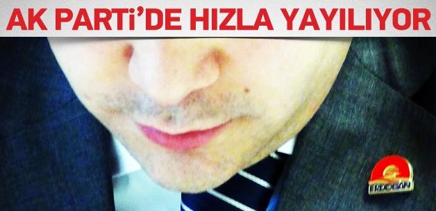 AK Parti'de Erdoğan rozeti hızla yayılıyor