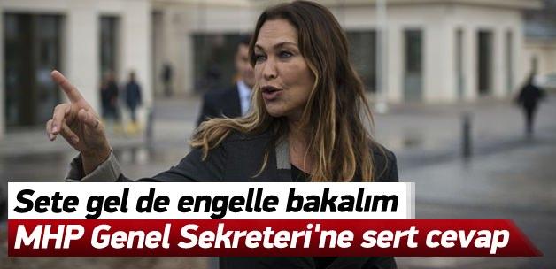 Avşar'dan MHP Genel Sekreteri'ne sert cevap