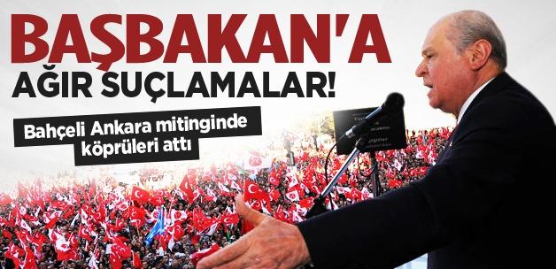 Bahçeli: Erdoğan her türlü taklayı atıyor