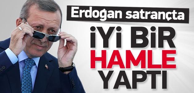 'Erdoğan satrançta iyi bir hamle yaptı'