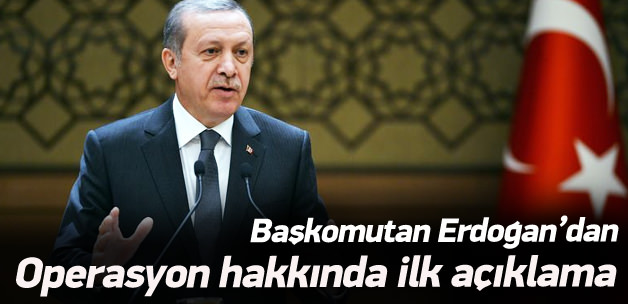 Erdoğan'dan Davutoğlu'na operasyon telefonu