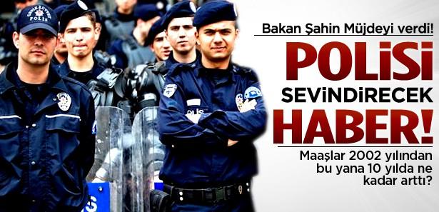İçişleri bakanından polislere zam sinyali