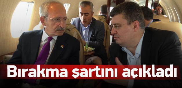 Kılıçdaroğlu bırakma şartını açıkladı
