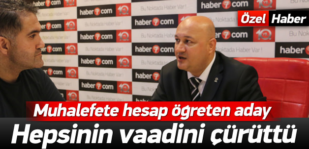 Muhalefetin vaadini hesapla çürüten AK Parti adayı