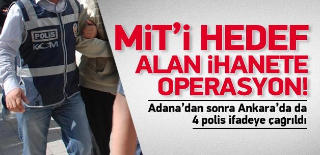Operasyon Ankara'ya sıçradı