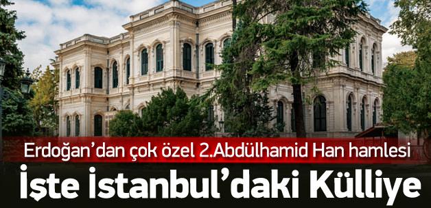 Yıldız Sarayı  İstanbul Külliyesi olacak